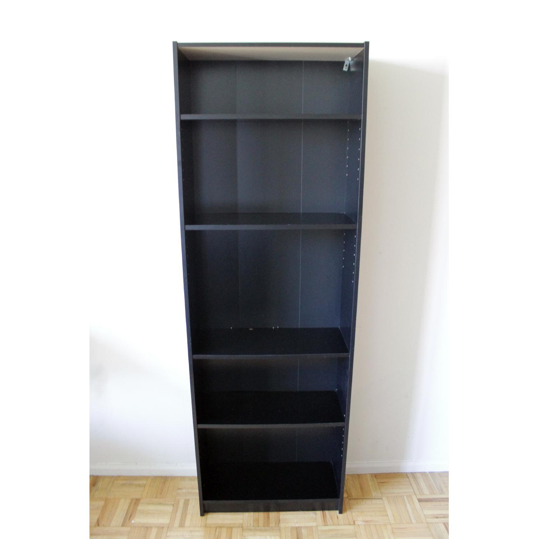 Ikea Billy Black Bookcase-0