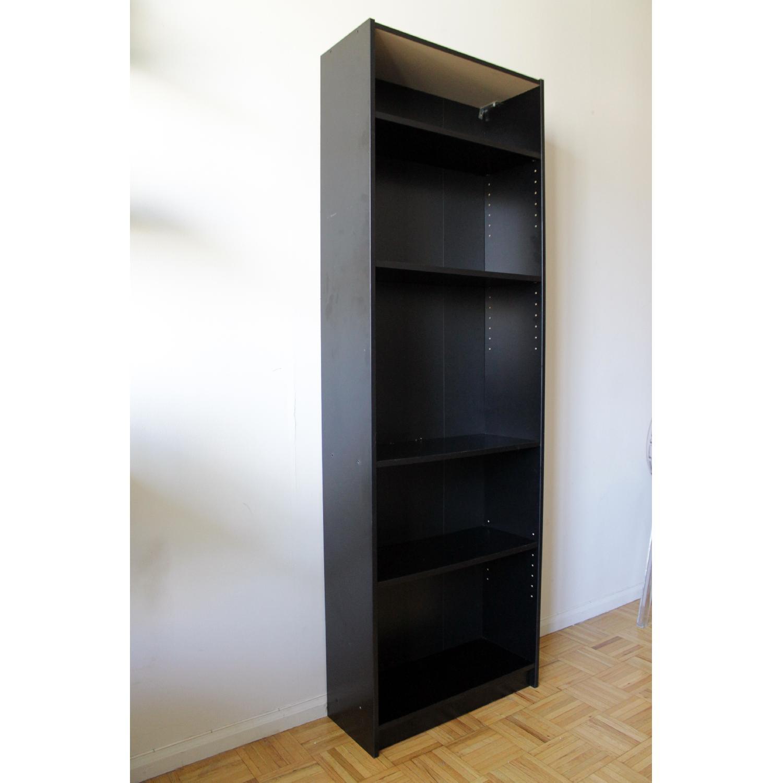 Ikea Billy Black Bookcase-1
