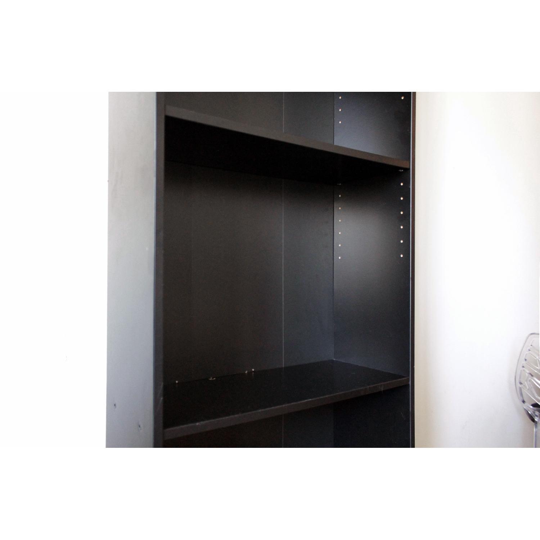 Ikea Billy Black Bookcase-2