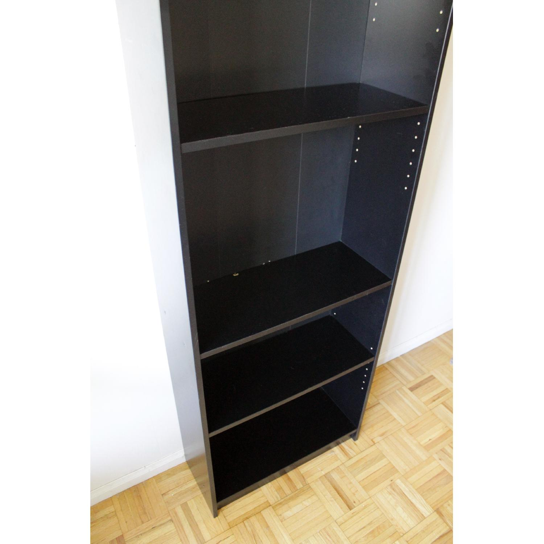 Ikea Billy Black Bookcase-3