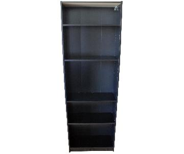 Ikea Billy Black Bookcase