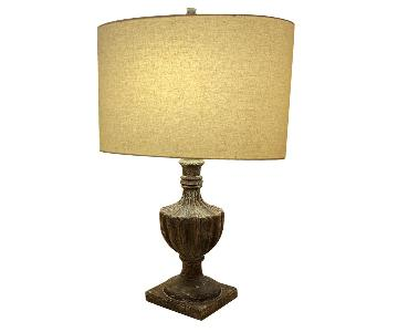 Plaster-Textured Rustic Traditional Table Lamps