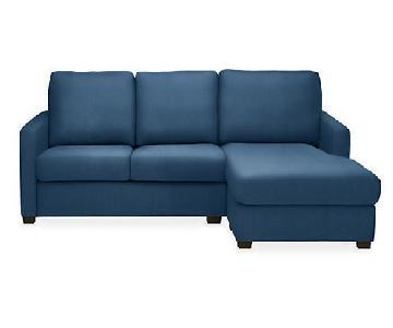 Room & Board Berin Queen Sleeper Sectional Sofa