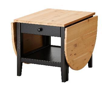 Ikea Coffee Table w/ Shelf & Drawer