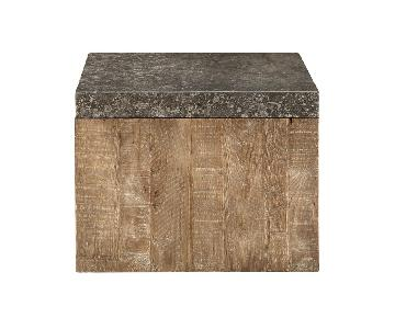 Arhaus Thayer Cube Side Tables