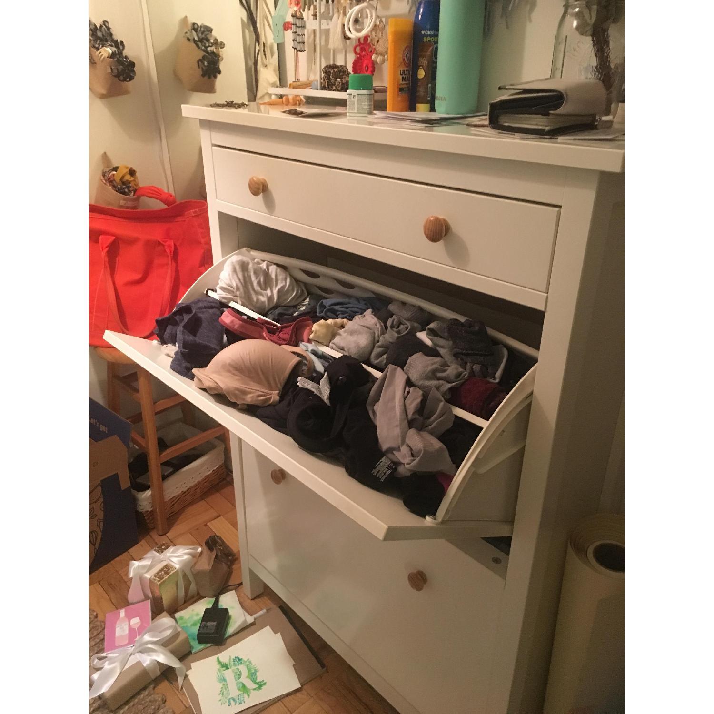 ... Ikea Hemnes Shoe Storage Cabinets W/ 2 Compartments 1 ...