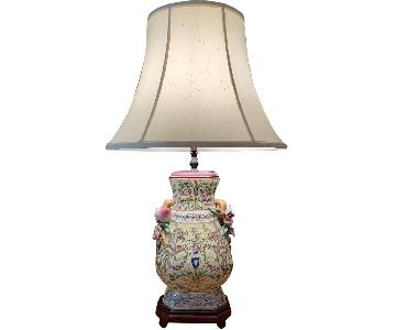United Wilson Porcelain Lamp