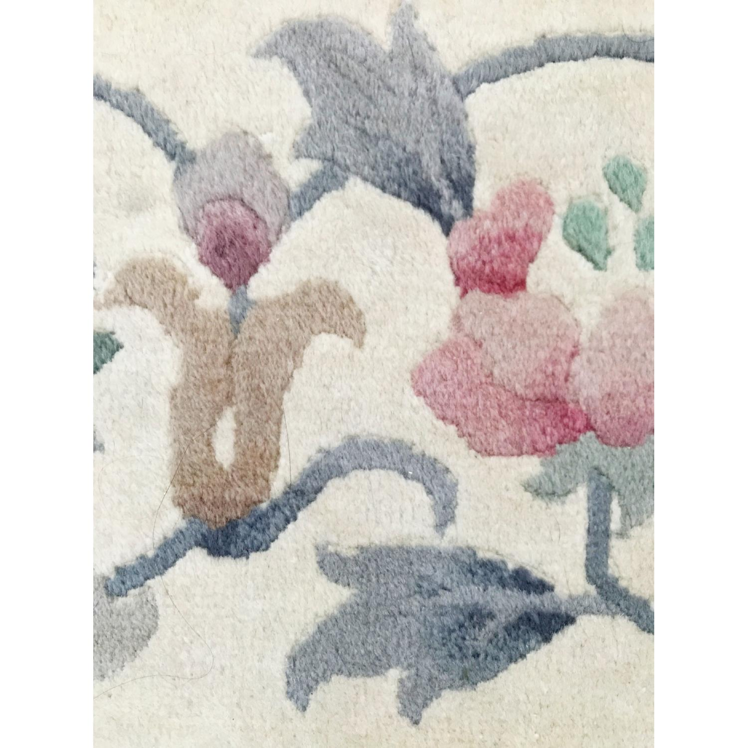 Oriental Hand Knotted Wool Area Rug - image-1