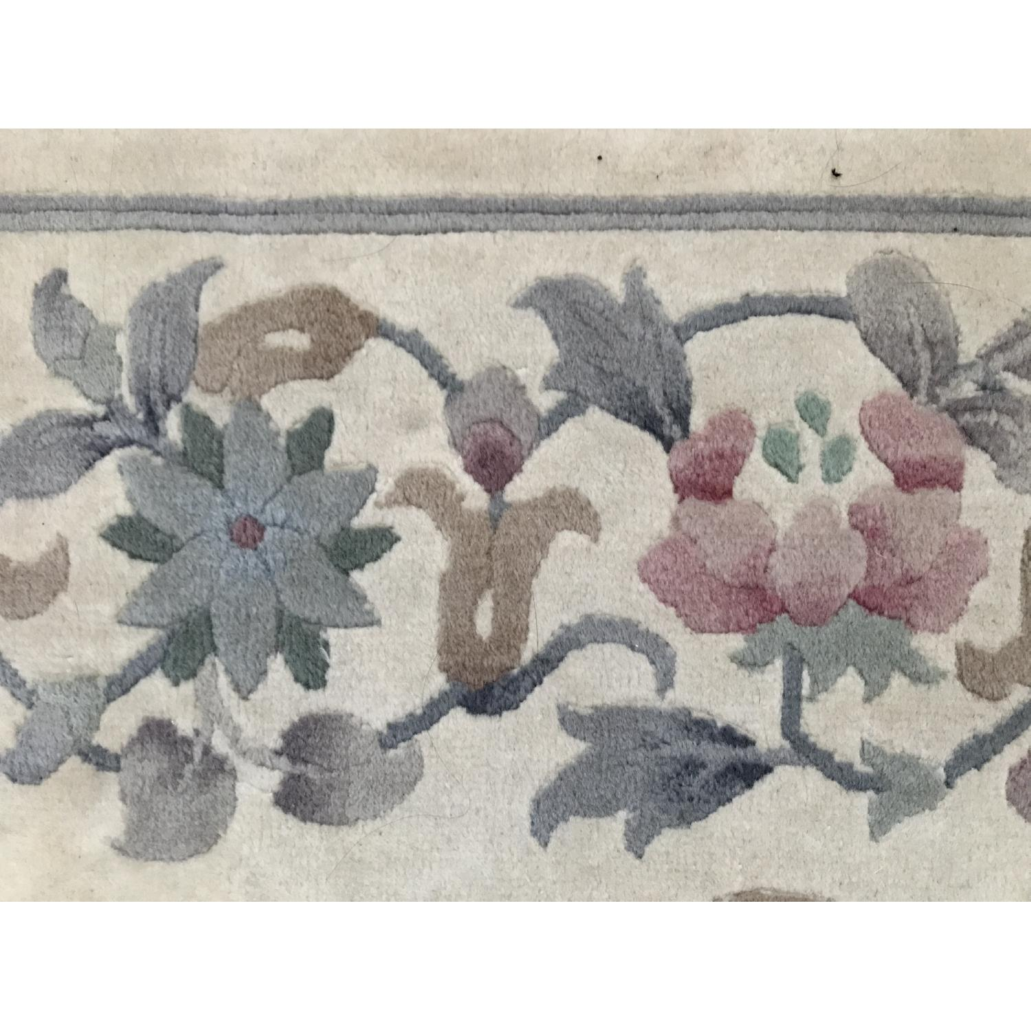 Oriental Hand Knotted Wool Area Rug - image-2
