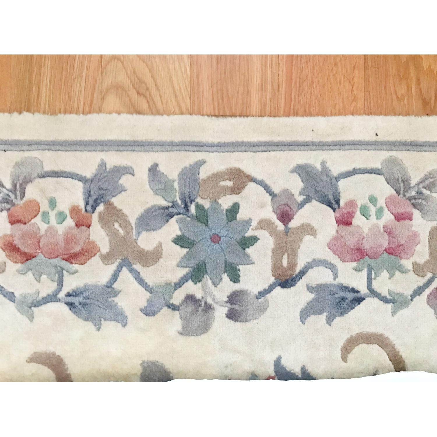 Oriental Hand Knotted Wool Area Rug - image-4