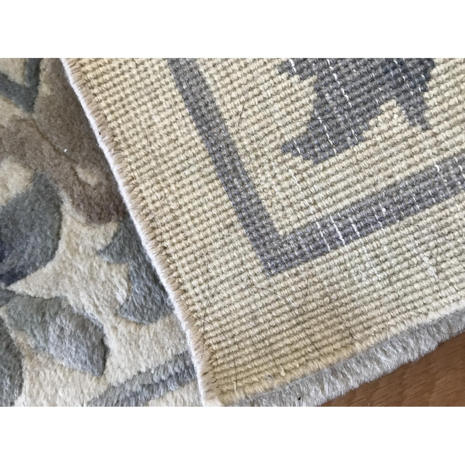 Oriental Hand Knotted Wool Area Rug - image-6