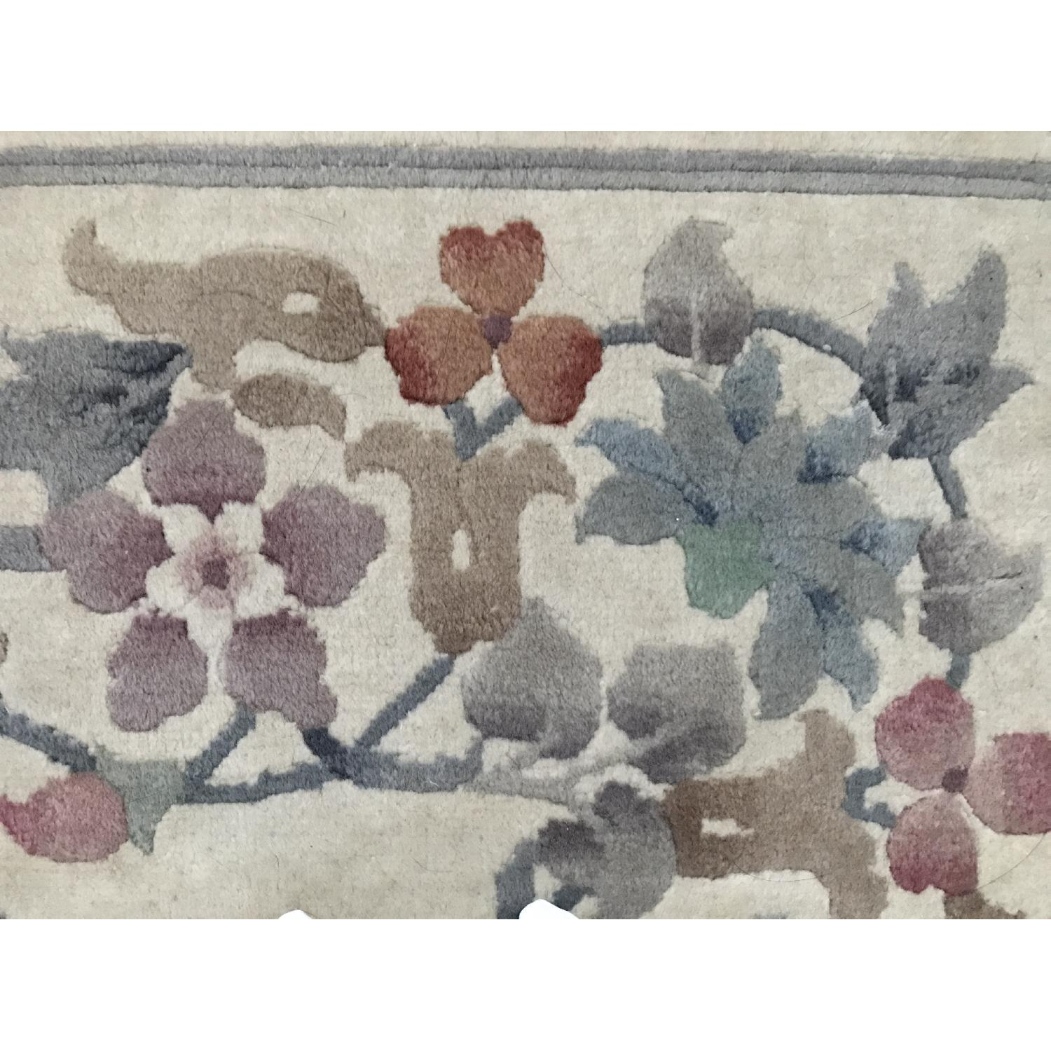 Oriental Hand Knotted Wool Area Rug - image-8