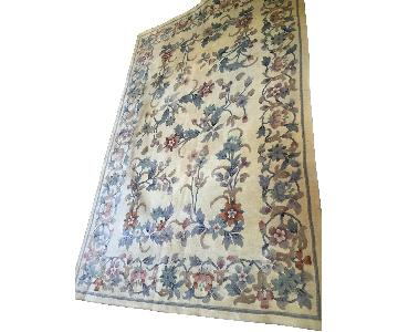 Oriental Hand Knotted Wool Area Rug
