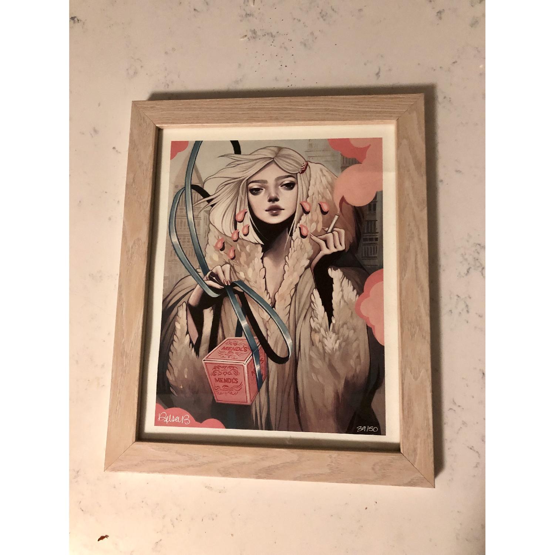 Kelsey Beckett Signed & Numbered Print - Secret Admirer - image-1