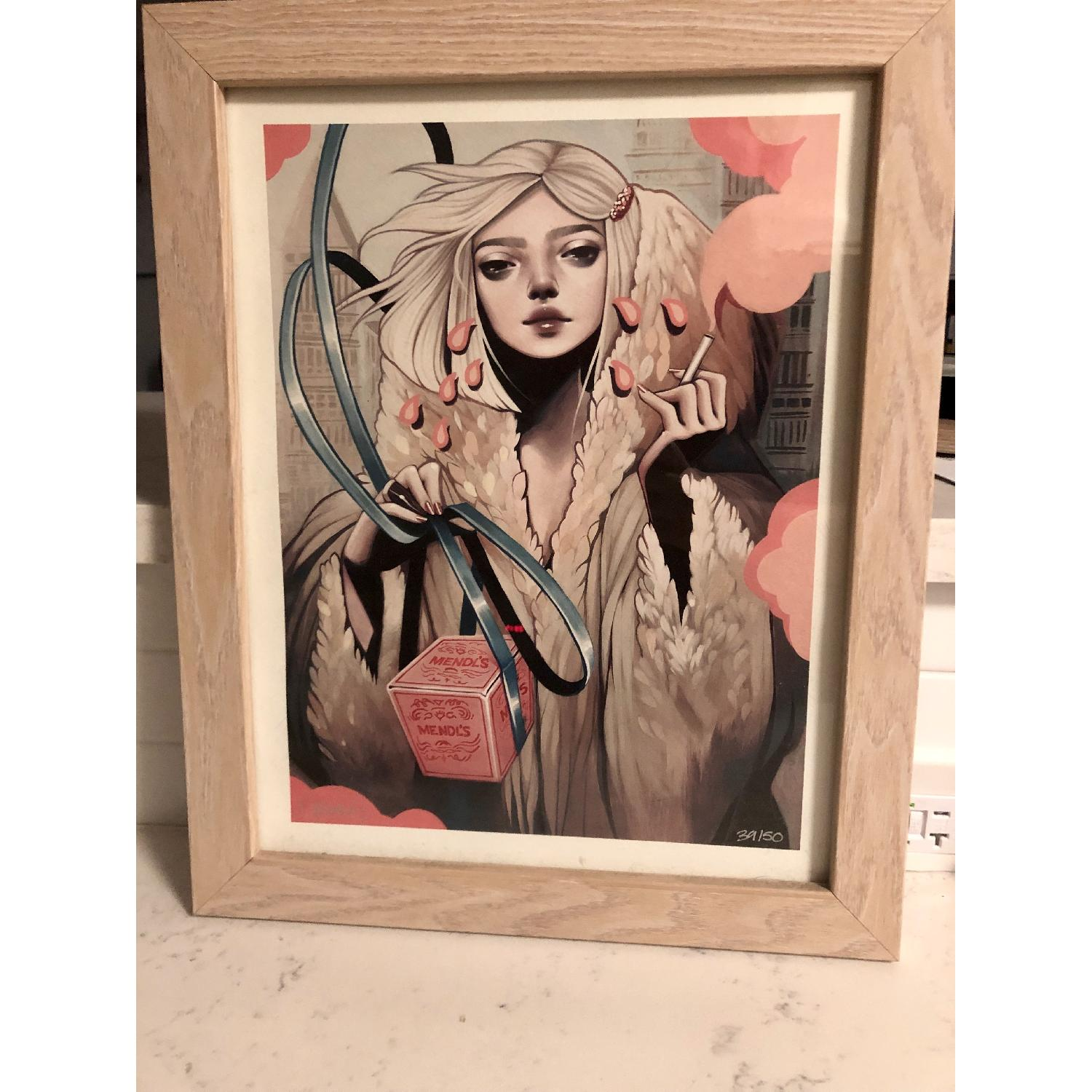 Kelsey Beckett Signed & Numbered Print - Secret Admirer-4