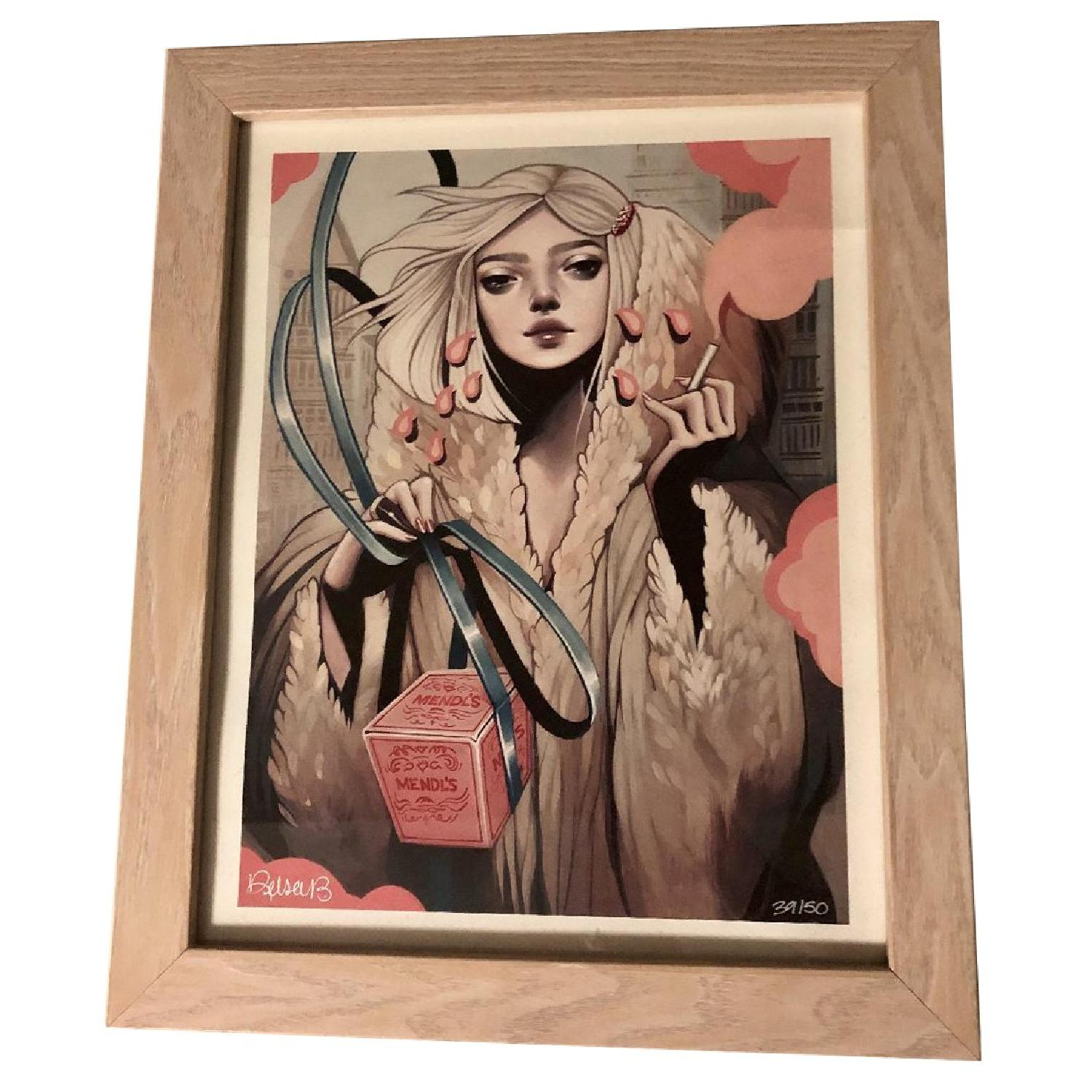 Kelsey Beckett Signed & Numbered Print - Secret Admirer