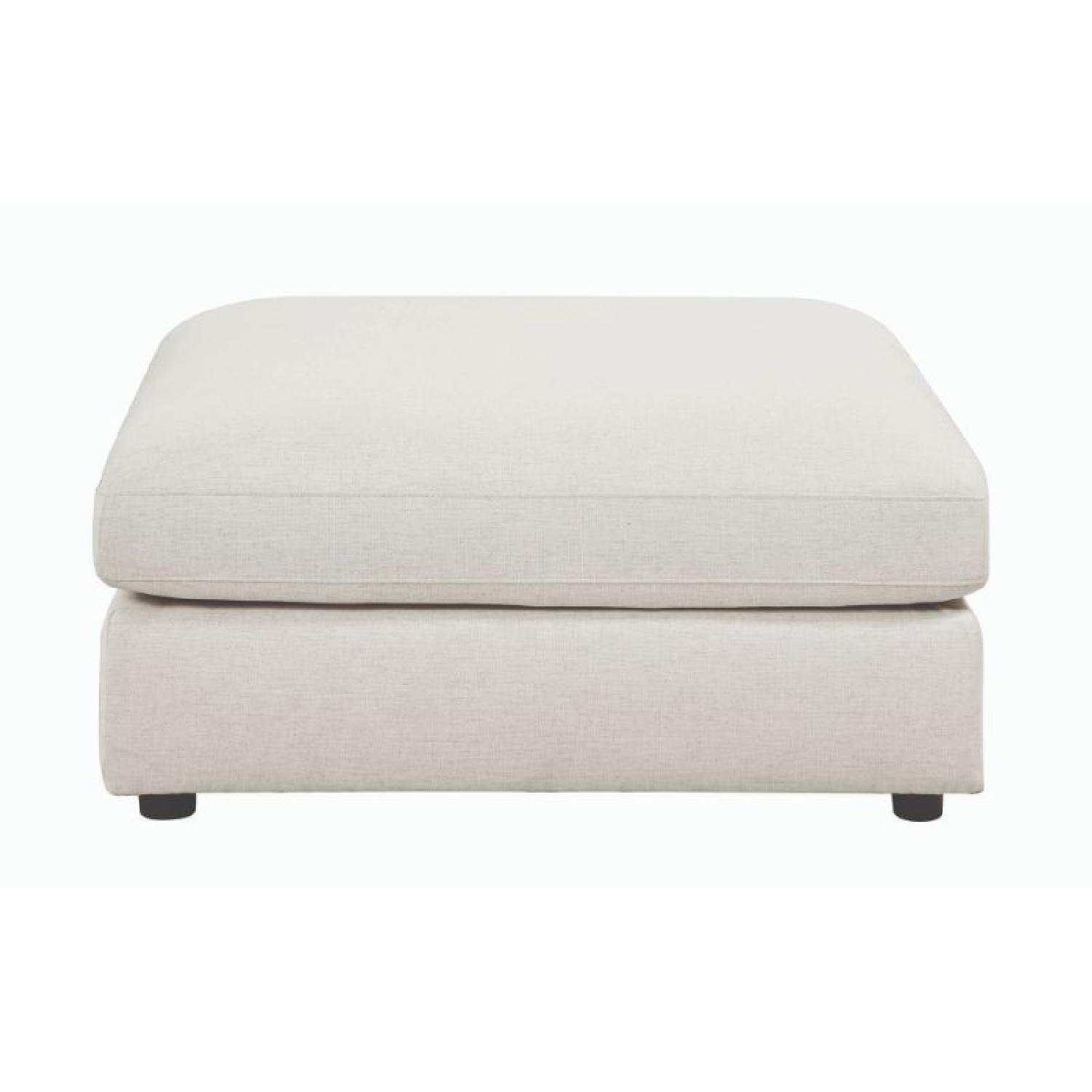 Modern Daybed w/ Trundle Upholstered in Light Grey Fabric - image-15