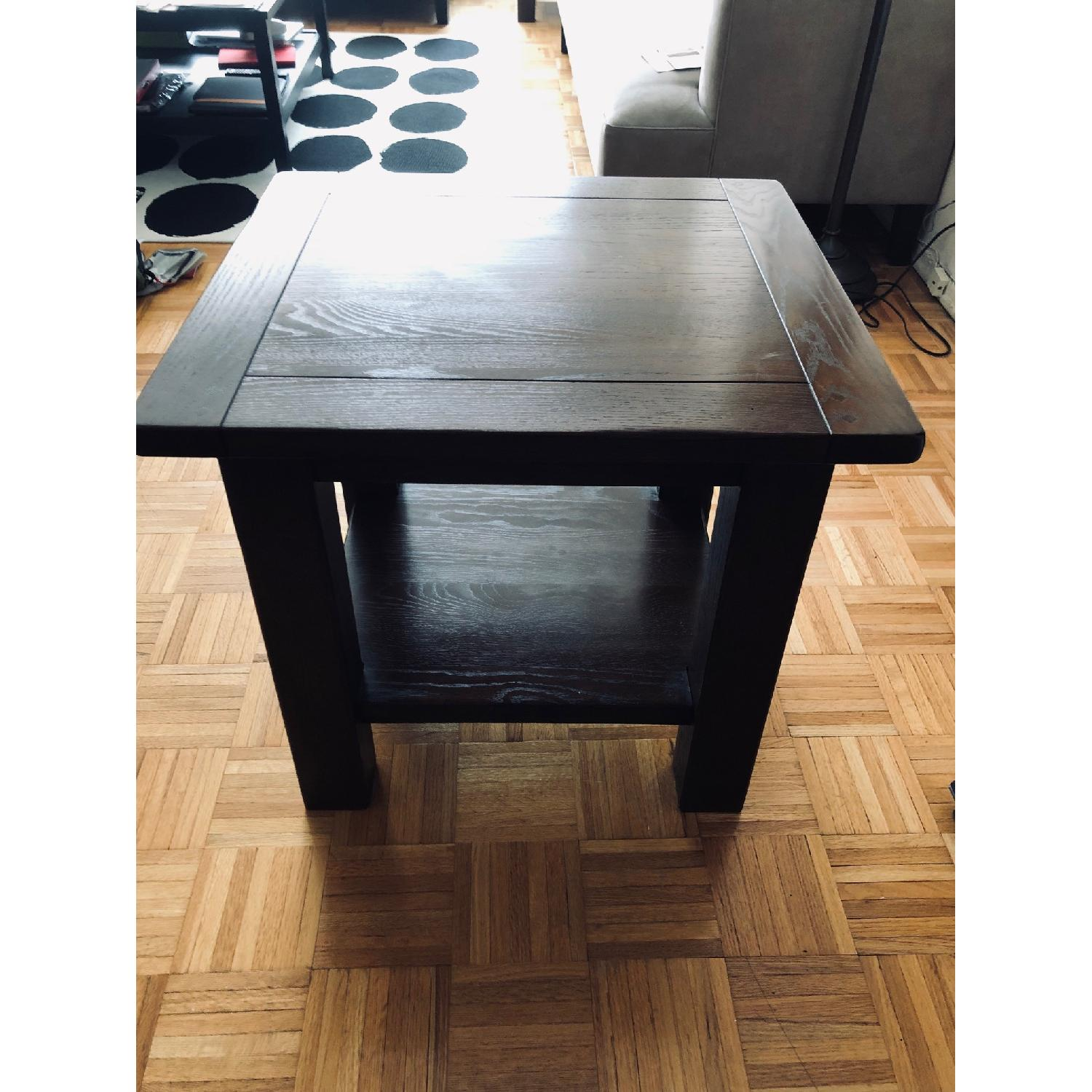 Pottery Barn Benchwright Cube Side Tables - image-1