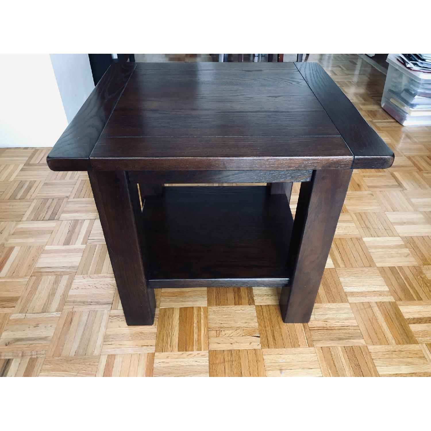 Pottery Barn Benchwright Cube Side Tables - image-3