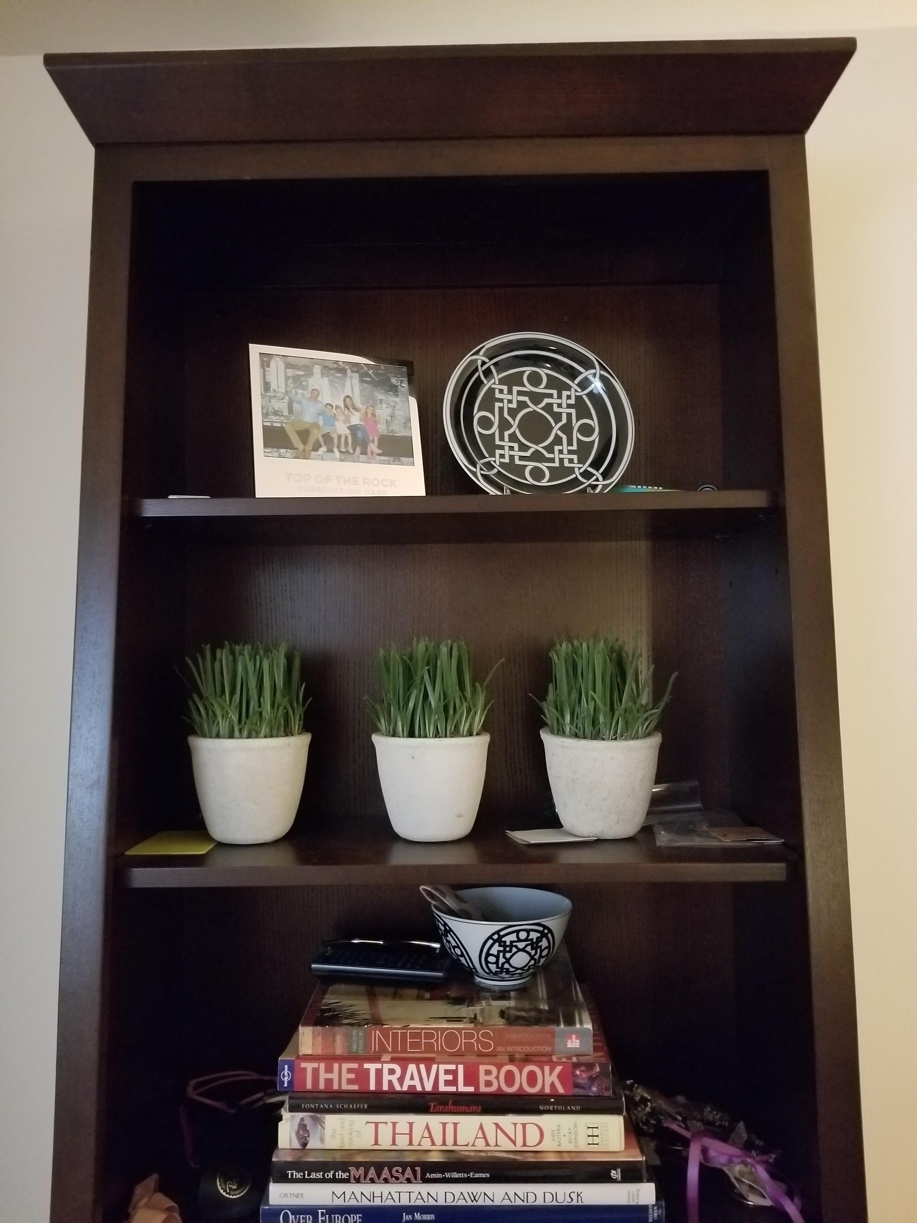 Ethan Allen Wood Tall Bookcase