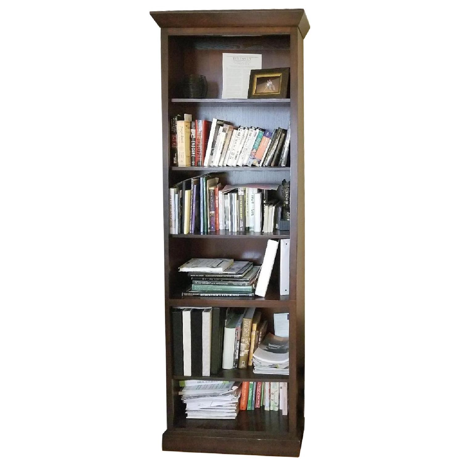Ethan Allen Wood Tall Bookcase