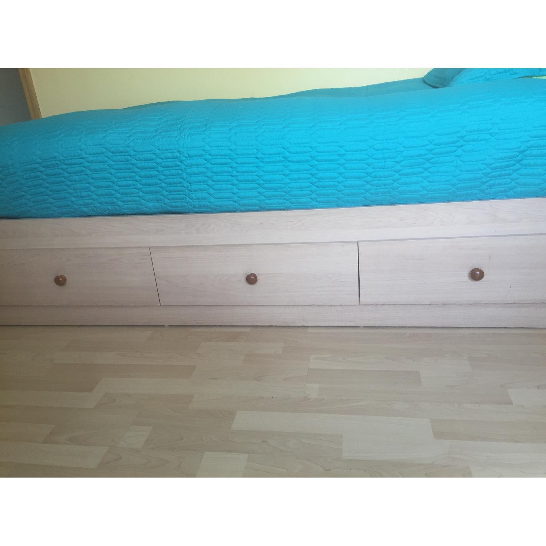Twin Captain Bed w/ Headboard - image-3