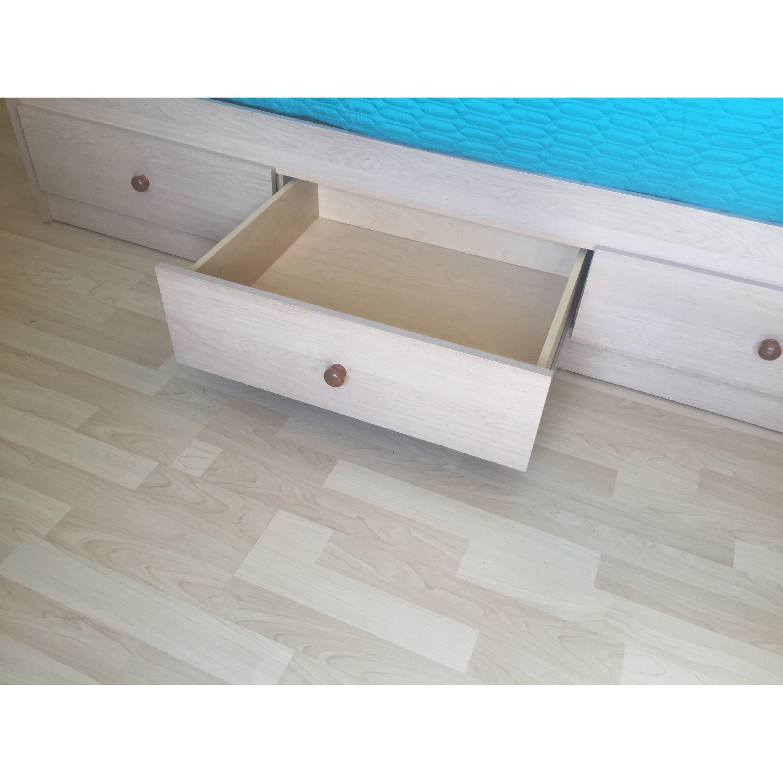 Twin Captain Bed w/ Headboard - image-4