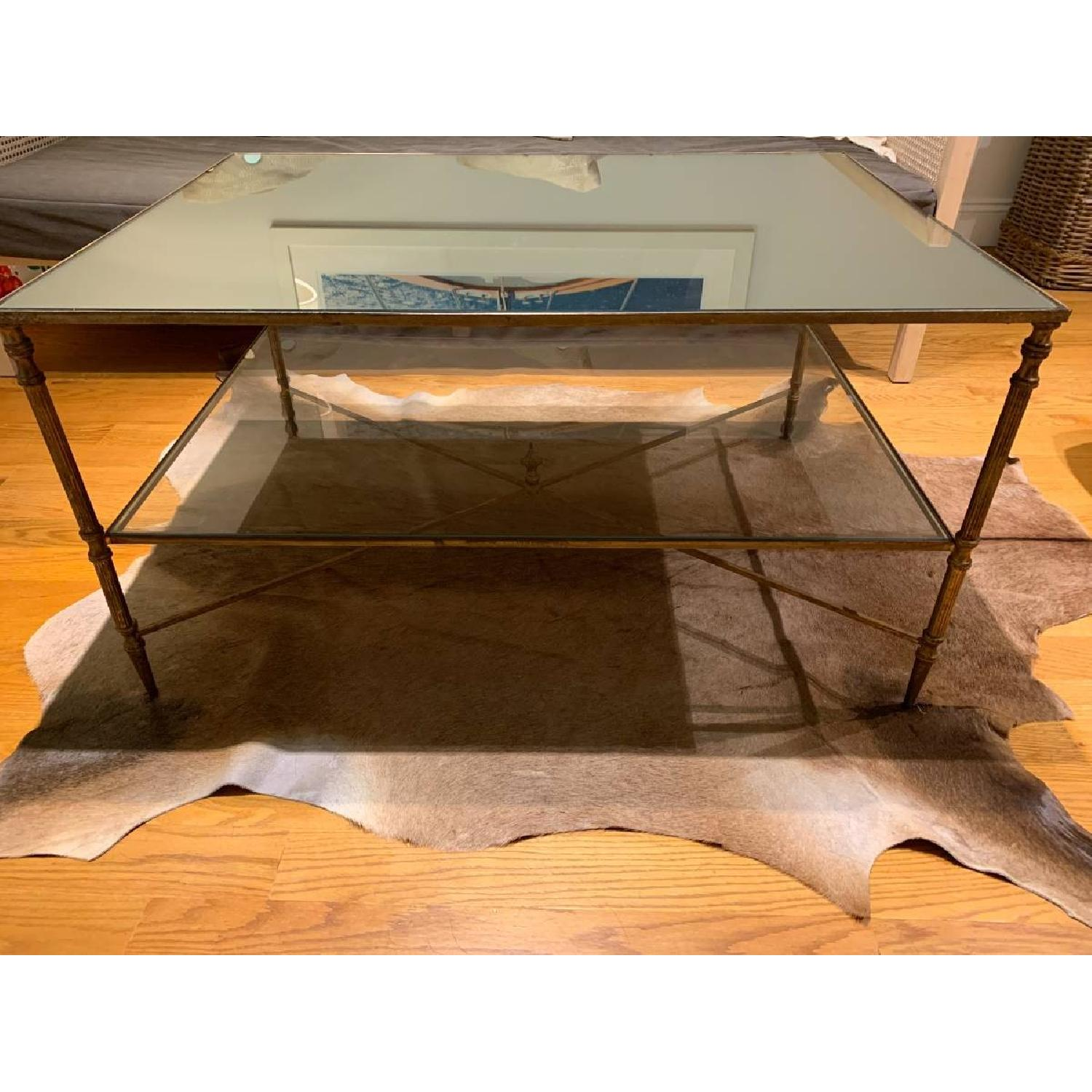 Uttermost Mirrored Glass Coffee Table - image-3