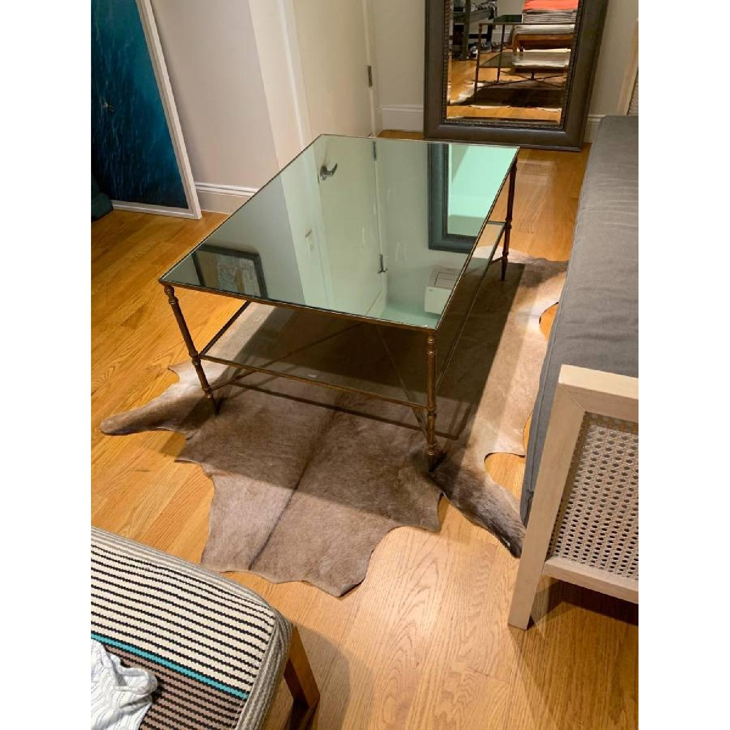 Uttermost Mirrored Glass Coffee Table - image-4