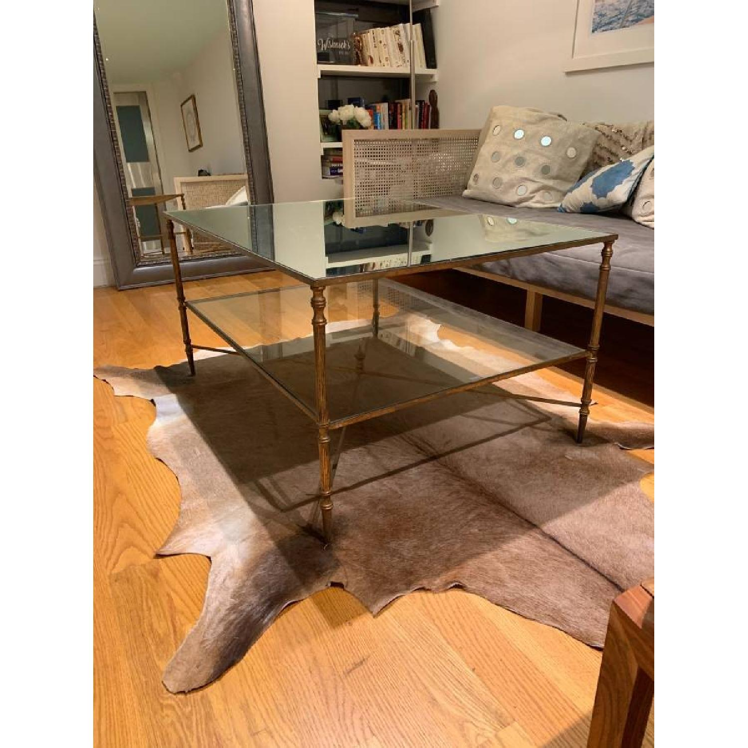 Uttermost Mirrored Glass Coffee Table - image-5