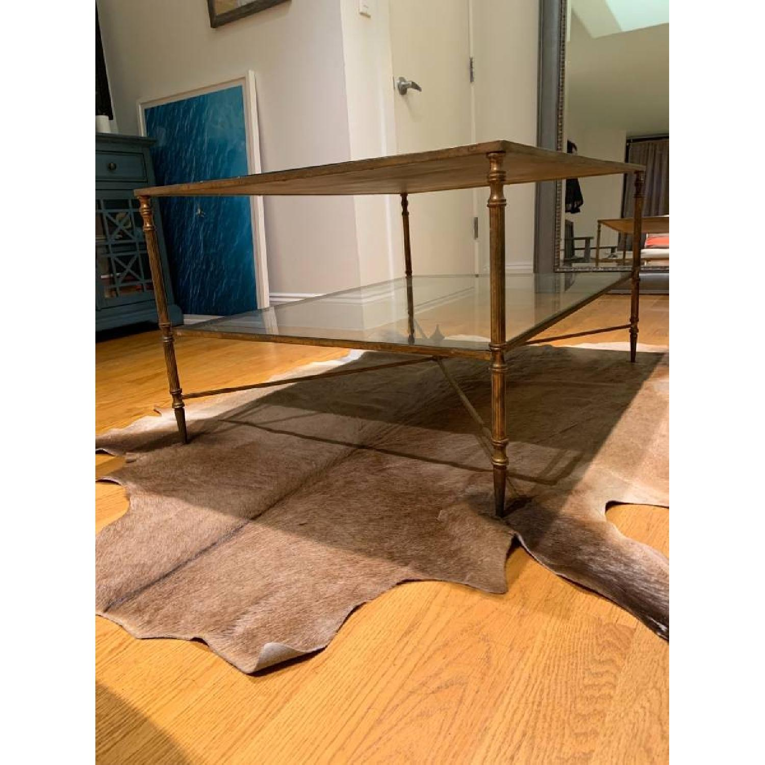 Uttermost Mirrored Glass Coffee Table - image-6