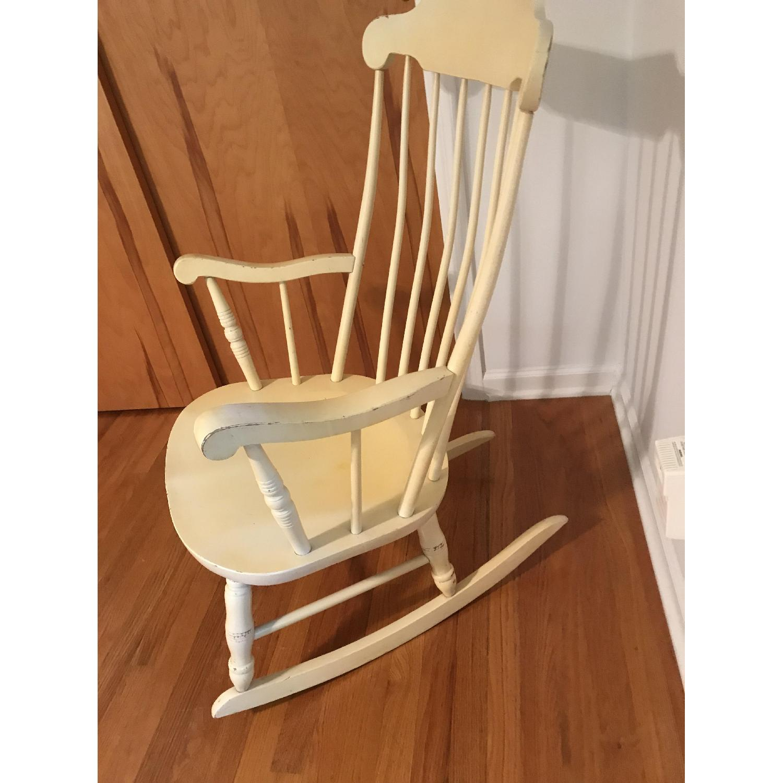Vintage Wood Rocking Chair - image-4