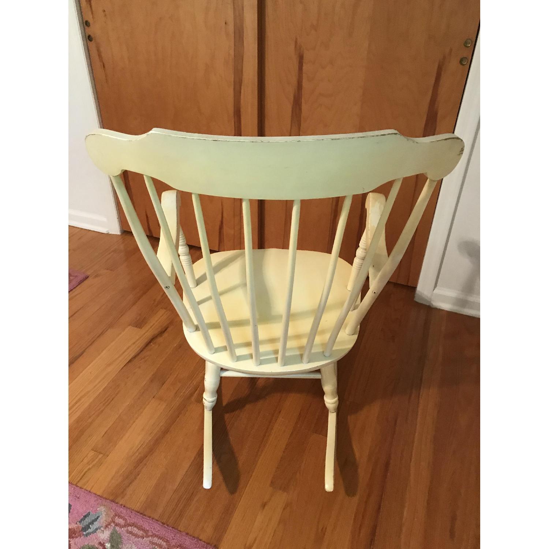Vintage Wood Rocking Chair - image-7