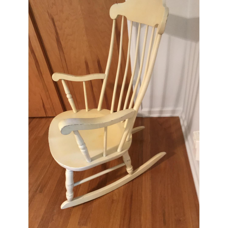 Vintage Wood Rocking Chair - image-8