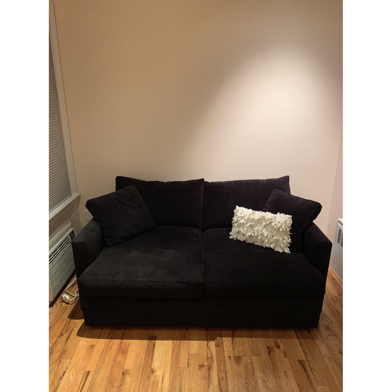 Crate Barrel Lounge Ii Petite Apartment Sofa Aptdeco