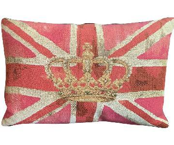 Royal Union Jack Cotton Mix Pillows
