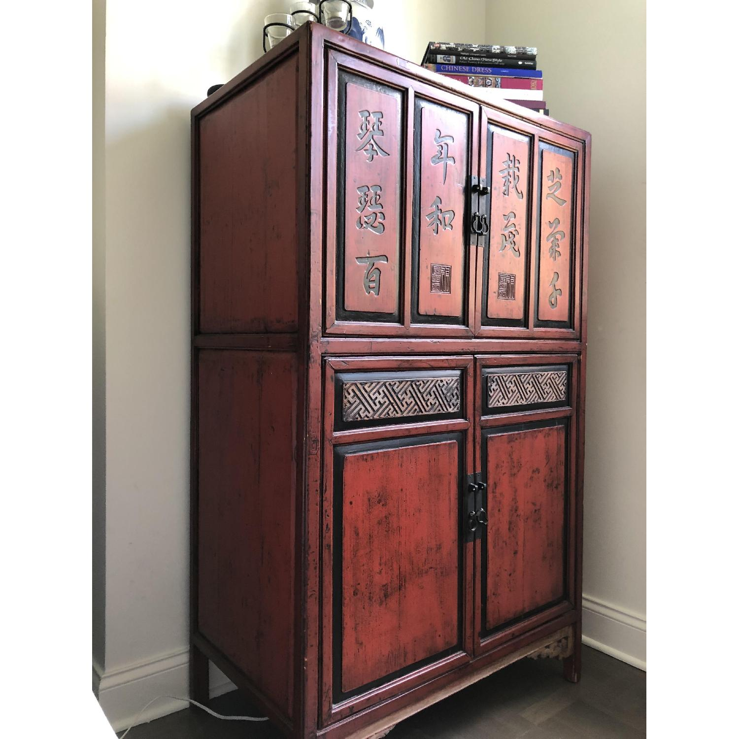 Antique Chinese Cabinet - image-2