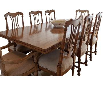 Hooker Collection Parson Dining Table w/ 8 Chairs