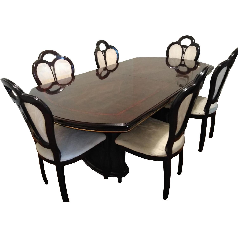 Fabrique Par Vintage Clarkson 7-Piece Mahogany Dining Set
