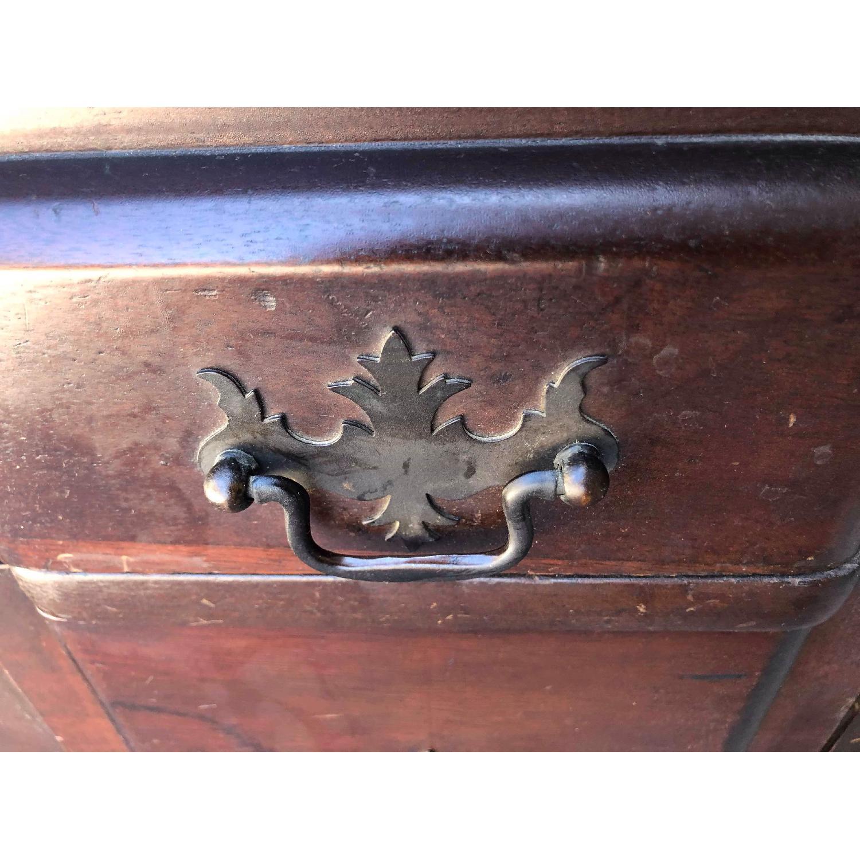 Antique 1930s Mahogany Secretary Cabinet/Desk-12