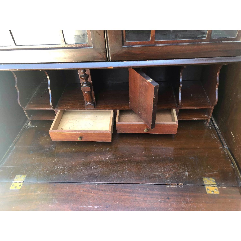 Antique 1930s Mahogany Secretary Cabinet/Desk-25
