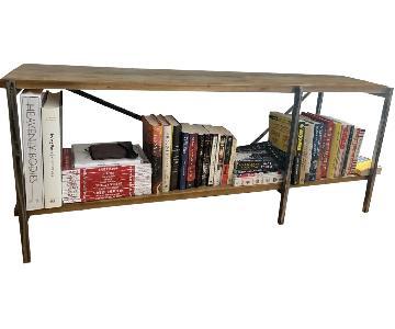 Wood & Metal TV Stand