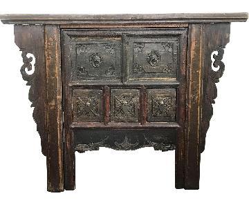 Ancient Asian Functional Design Desk & Chair