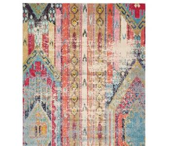 Mistana Newburyport Orange/Blue/Pink Rug