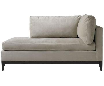 West Elm Down-Filled Blake Right Arm Chaise