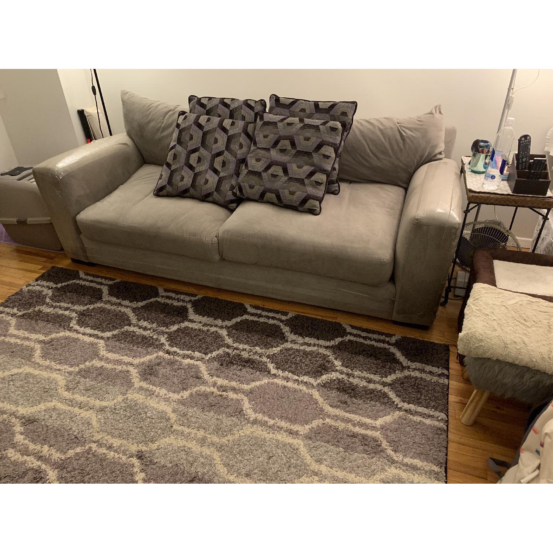 Raymour & Flanigan Grey Sofa - image-1