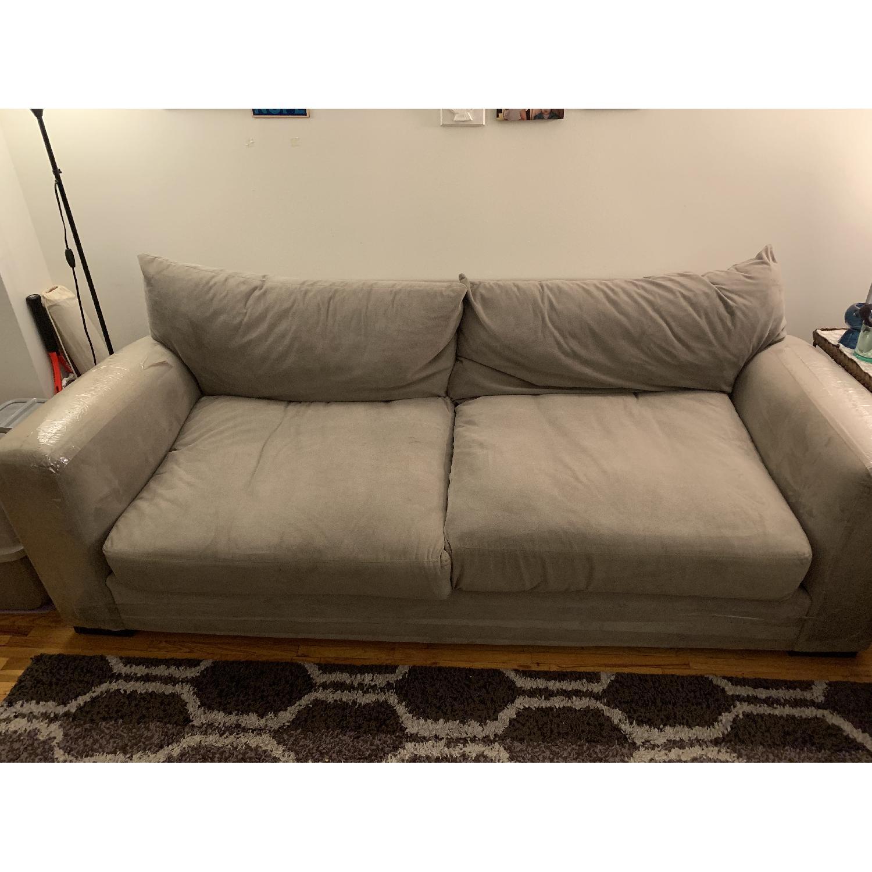 Raymour & Flanigan Grey Sofa - image-2