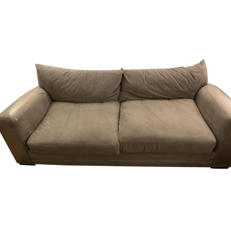 Raymour & Flanigan Grey Sofa - image-4