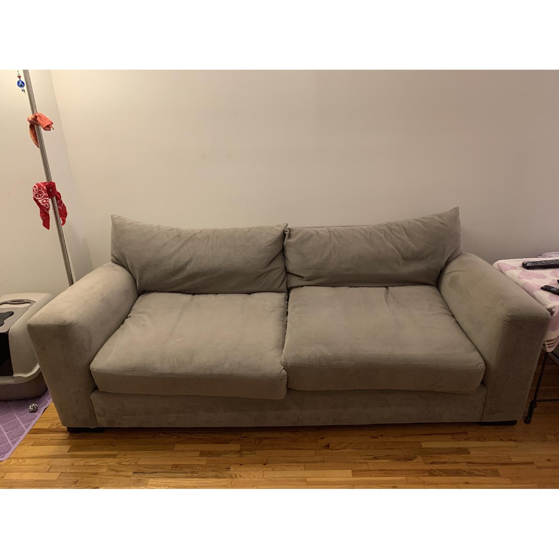 Raymour & Flanigan Grey Sofa - image-5
