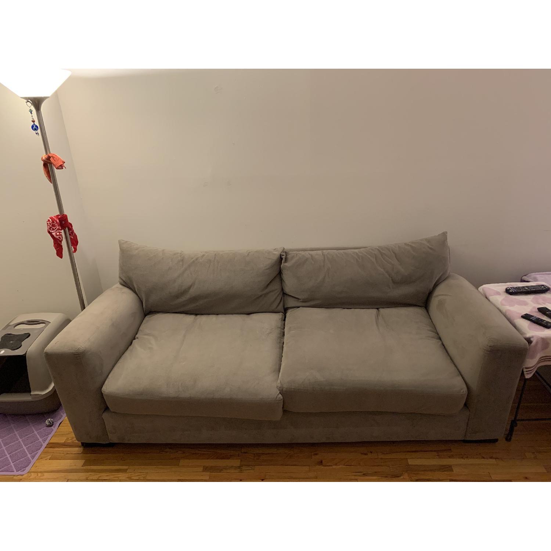 Raymour & Flanigan Grey Sofa - image-7